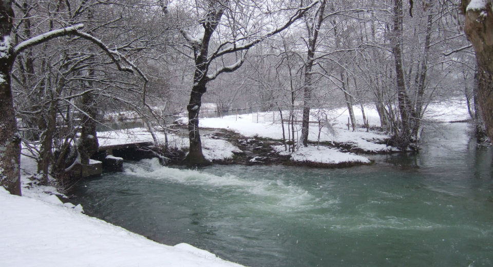Winter charm...the river