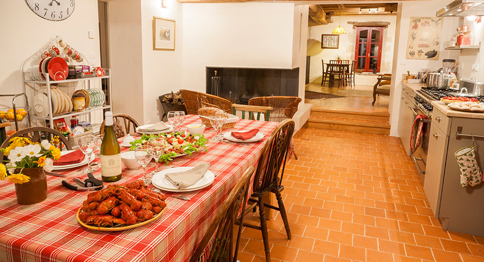 "...with high specification interior in the main house, for the ""True French Experience"" offering"