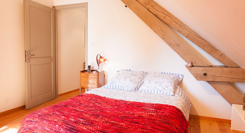 "An additional double bed bedroom in the main house, for the ""True French Experience"" offering"