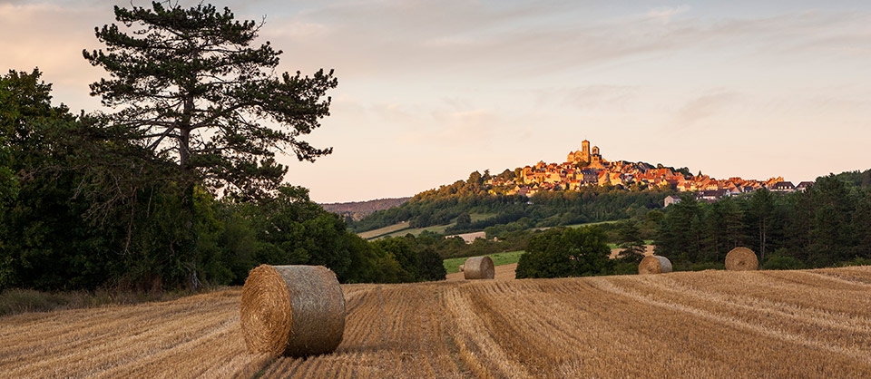 On the route of Compostela, Vezelay, 20 mins from Rix, designated UNESCO World Heritage site