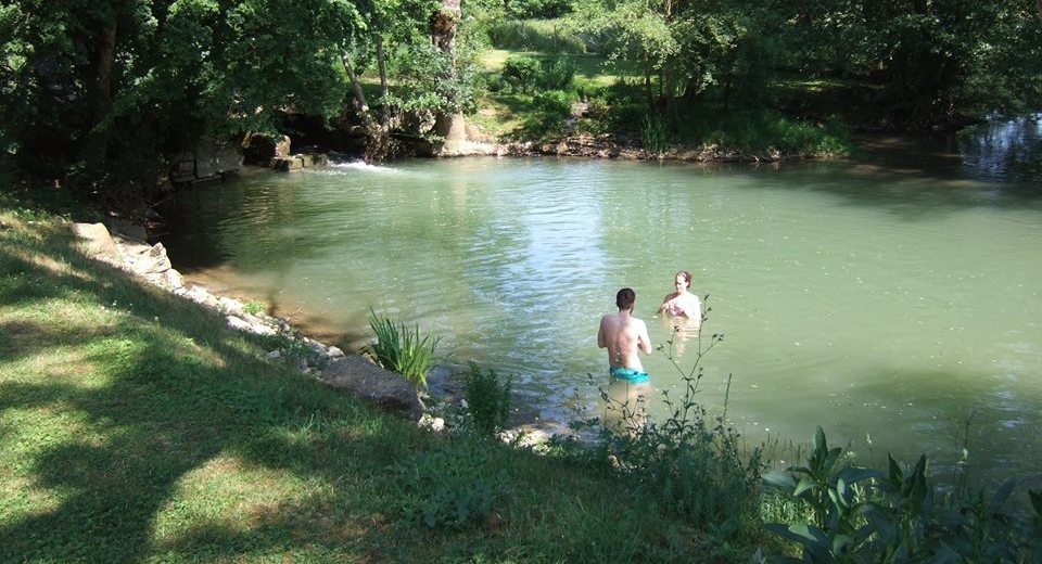 Wild swimming: tempting in summer